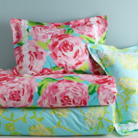 Lilly Pulitzer Sister Florals Comforter Cover Collection - Garnet Hill