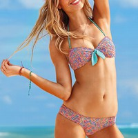 The Belle Knot-front Paisley Bandeau Top - Beach Sexy - Victoria&#x27;s Secret