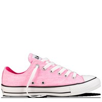 Converse - Chuck Taylor Washed Neon - Low - Washed Neon Pink