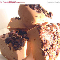 Mothers Day SALE Julie's Fudge - CAFE LATTE - Yummy Coffee Fudge Wonderment - 12 Pieces (1lb)