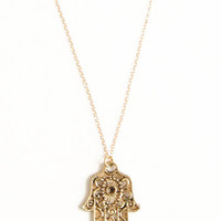 Helping Hamsa Necklace