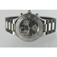 Cartier Must 21 Chronograph Stainless Steel Quartz Ladies Watch