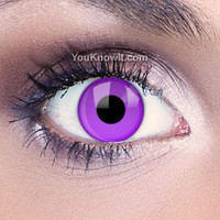 Costume Contact Lenses | Funky Eyes Violet UV Contact Lenses