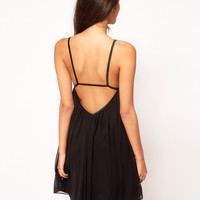 ASOS | ASOS Swing Dress in Mesh at ASOS
