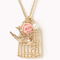 Birdcage Necklace | FOREVER 21 - 1054704230