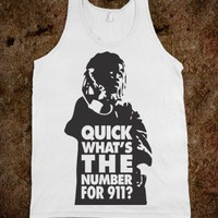 Quick What&#x27;s The Number For 911 / Little Rascals Tank