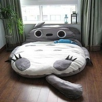Leyou Totoro Design Bigsofa 2.7x1.7m Totoro Bed Totoro Double Bed Totoro Sleeping Bag:Amazon:Home &amp; Kitchen