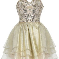 Carousel Ride Dress | Homecoming Prom Dresses | Rickety Rack