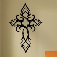 Vinyl Wall Lettering Religious Wall Art Tribal by WallsThatTalk