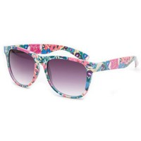 FULL TILT Floral Classic Sunglasses:Amazon:Clothing