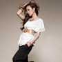 New Arrivals Ray Fashion Asian Women&#x27;S Clothing Sexy Short Sleeve T-Shirts