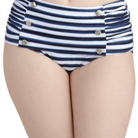 Sweet Skygazing Swimsuit Bottom | Mod Retro Vintage Bathing Suits | ModCloth.com
