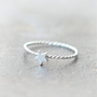 Tiny Star Ring in sterling silver by laonato on Etsy