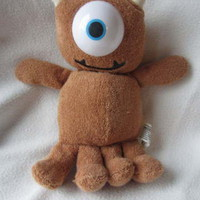 "Monsters Inc Little Mikey Doll Disney Hasbro 10"" Plush Stuffed Animal Toy Eye"