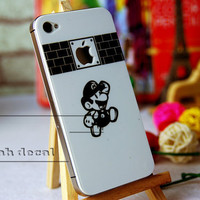 iPhone 4s Decal iphone 4 Stickers iPhone 5 Decals Apple Decal for Macbook Pro / Macbook Air / iPad / iPad2 / New ipad / iPhone 4