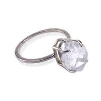 Herkimer Diamond Solitaire