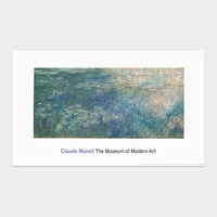 Monet: Water Lilies (Panel 1 of 3)