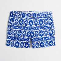 Factory 5&quot; printed stretch chino short
