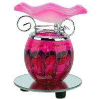 Pink Electric Tart/Oil Warmer | smellgoods - Candles on ArtFire