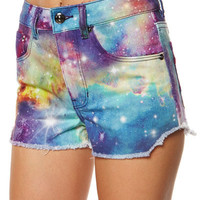 RIP CURL GALAXY DENIM SHORT - MULTICO