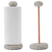 SEA STONE PAPER TOWEL HOLDER | Stones, Rocks, Papertowel, Holders | UncommonGoods