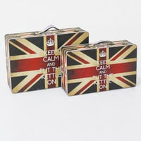 Screen Gems Britannia Suitcase (Set of 2)