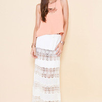 MARKET HQ | Crochet Midi Skirt