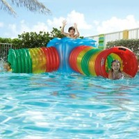 Amazon.com: Amazing Pool Maze Inflatable Floating Play System: Toys & Games