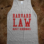 Harvard Law - Cartoons &amp; Cereal - Skreened T-shirts, Organic Shirts, Hoodies, Kids Tees, Baby One-Pieces and Tote Bags