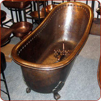 Berber Trading Company. Claw Copper Bathtub