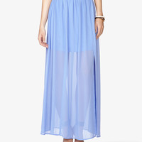 Semi-Sheer Maxi Skirt | FOREVER21 - 2046121201