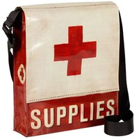 Medical Supplies Messenger Bag