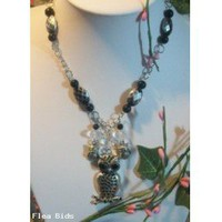 Handmade Owl necklace (Auction ID: 129989, End Time : N/A) - FleaBids Auction House