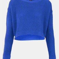 Topshop Crop Sweater (Petite) | Nordstrom