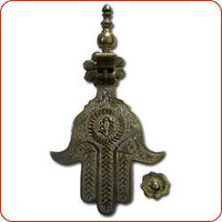 Moroccan Decor and Design, Moroccan style decor, Moroccan door knocker, Khamsa, Hamsa, Hand of Fatima Door Knocker