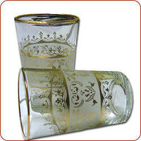 Moroccan tea glasses, Moroccan mint tea, Moroccan tea, Moroccan tea glass.