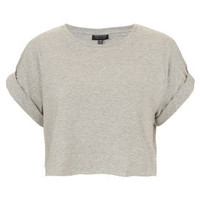 Roll Back Crop Tee - Jersey Tops  - Clothing