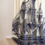 Elizabethan Sails Shower Curtain