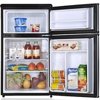 Midea College Fridge with Freezer 3.1 Cu Ft White