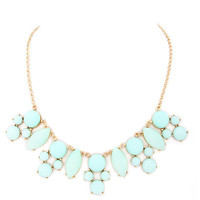Mint Wellington Necklace – Modeets.com