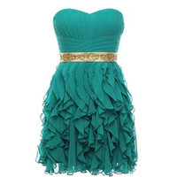 Fascinating Sheath/Column Sweetheart Mini Prom Dress