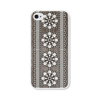 Lace Apple iPhone 4 Case  Plastic iPhone 4s Case  by fieldtrip