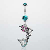 Dazzling Mermaid Belly Ring