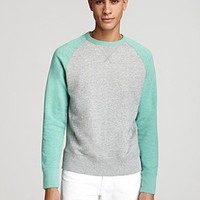 Jack Spade Mooney Raglan Sleeve Sweatshirt | Bloomingdale's