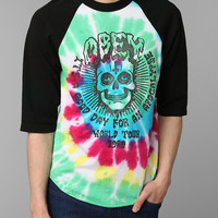 OBEY Apocalypse Tie-Dye Raglan Tee