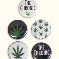 Stick Up Kids The Chronic Dimebag Button Pack