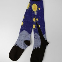 Sock It To Me Starry Night Knee High Socks