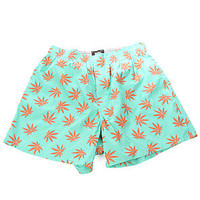 HUF The Plantlife Boxers in Aqua : Karmaloop.com - Global Concrete Culture