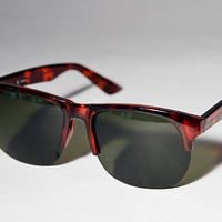 Vintage Brown Fashion Indie Urban Glossy Sunglasses A22