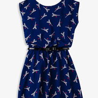 Eiffel Tower Chiffon Dress | FOREVER 21 - 2051077421